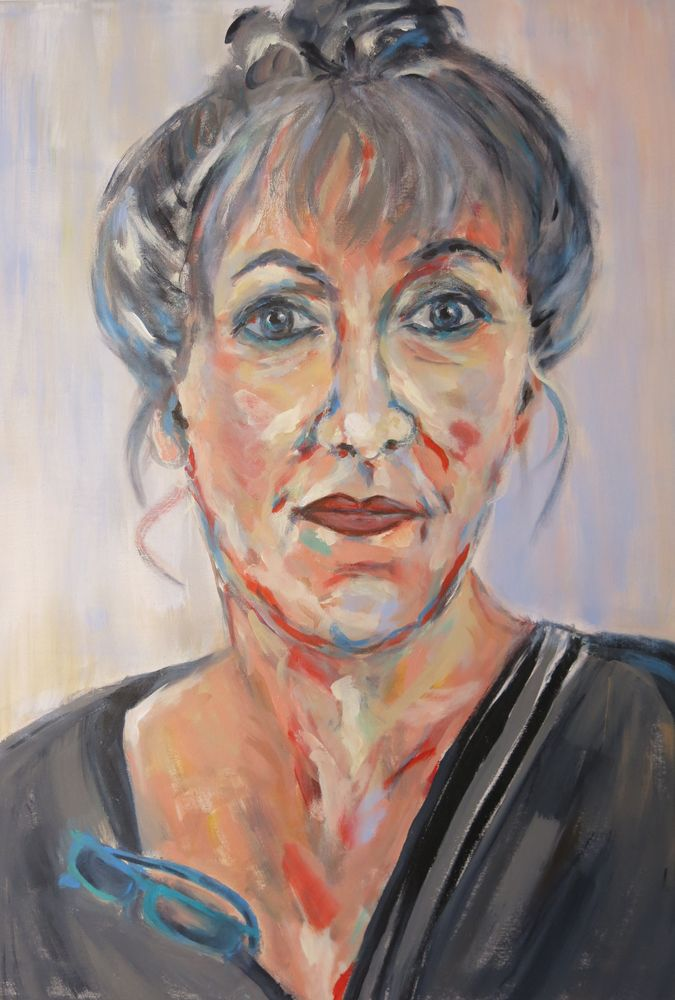 Ellen, Acryl auf Leinwand, 80x60cm, 2015