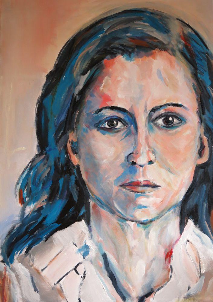 Iryna, Acryl auf Leinwand, 80x60cm, 2015