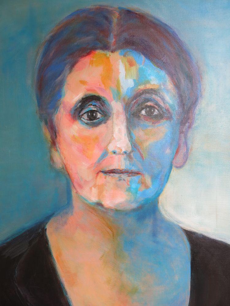 Jaen Adams, Acryl auf Leinwand, 120x100cm, 2015