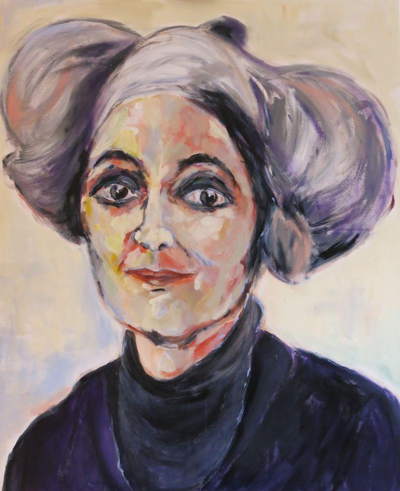 Marianne, Acryl auf Leinwand, 120x100cm, 2015