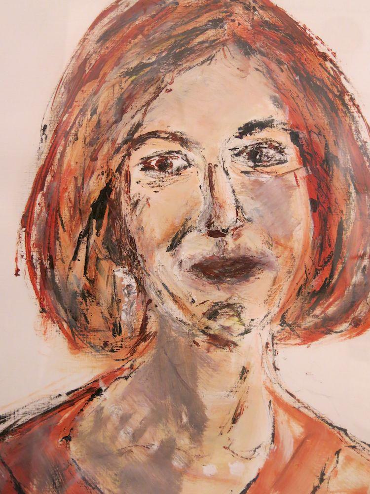 Mariola, Acryl auf Papier, 40x30cm, 2013