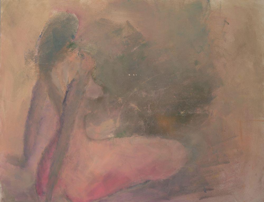 Akt VIII, Acryl auf Leinwand, 120x100cm 2012