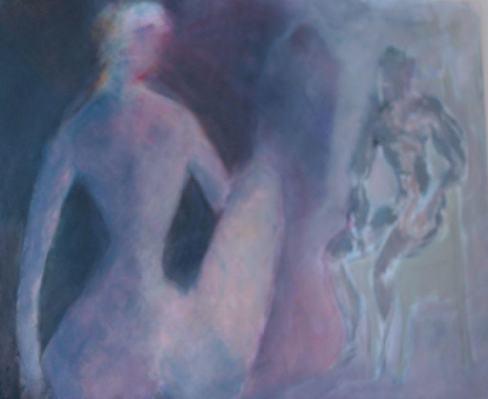 Akt IX, Acryl auf Leinwand, 120x100cm 2012