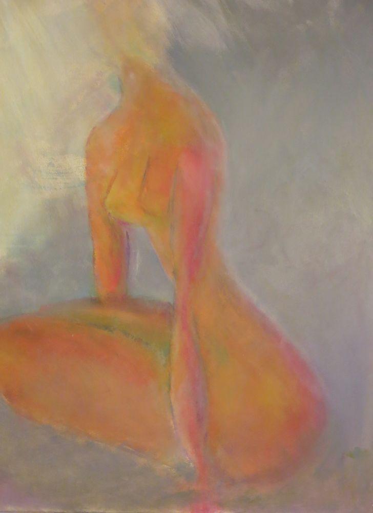 Akt VII, Acryl auf Leinwand, 100x80cm 2012