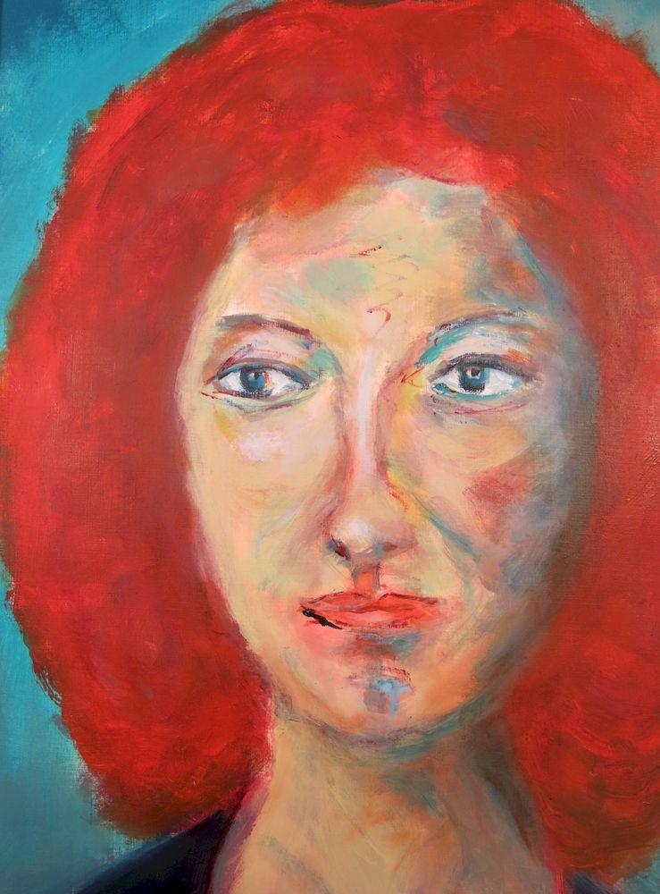 Zuzanka, Acryl auf Papier, 50x30 cm, 2013