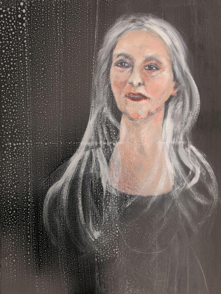 Renate, Mischtechnik auf Leinwand, 70x50 cm, 2014ergebnis